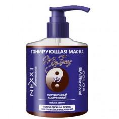 Nexxt тонирующая маска color barevival 7.7 натуральный коричневый 320мл