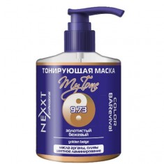 Nexxt тонирующая маска color barevival 9.73 золотистый бежевый 320мл