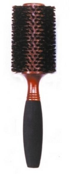 DEWAL PROFESSIONAL Брашинг деревянный, натуральная щетина, мягкая ручка d 34/65 мм