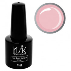 IRISK PROFESSIONAL База каучуковая камуфлирующая для ногтей, нежно-розовая / Rubber Base Pink 10 г