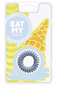 EAT MY bobbles Резинка для волос в цвете Сливочная голубика