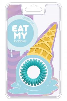 EAT MY bobbles Резинка для волос в цвете Бабл-гам