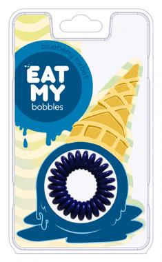 EAT MY bobbles Резинка для волос в цвете Голубичный сорбет