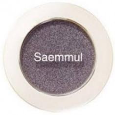 Тени для век мерцающие THE SAEM Saemmul Single Shadow Shimmer BR10 2гр