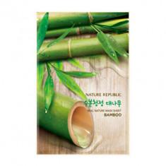 Маска для лица листовая NATURE REPUBLIC REAL NATURE BAMBOO MASK SHEET 20мл