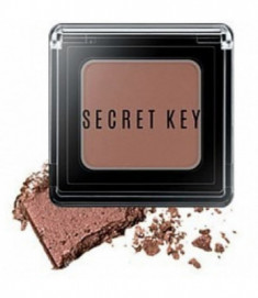 Тени для век моно Fitting Forever Single Shadow #Bitter (Choco Brown) 3,8г SECRET KEY