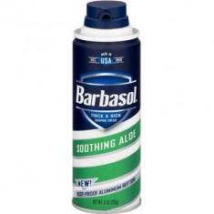 Крем-пена для бритья смягчающая с экстрактом алоэ Soothing Aloe Shaving Cream BARBASOL