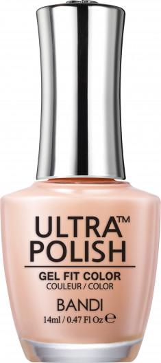 BANDI UP604 ультра-покрытие долговременное цветное для ногтей / ULTRA POLISH GEL FIT COLOR 14 мл
