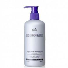 шампунь оттеночный против желтизны волос la'dor anti yellow shampoo
