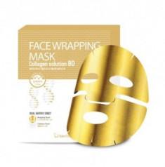 Маска для лица с коллагеном Berrisom Face Wrapping Mask Collagen Solution 80 27г