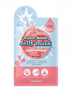 Маска для лица с желе антивозрастная Berrisom water Bomb Jelly mask Anti Wrinkle 33мл