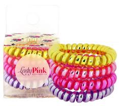 Набор резинок LADY PINK BASIC SLINKY box 4 шт