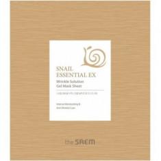 Маска для лица антивозрастная THE SAEM Snail Essential EX Wrinkle Solution Gel Mask Sheet 28г