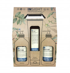 INSIGHT Набор для волос DAILY USE (шампунь 400 мл, кондиционер 400 мл, маска 250 мл)
