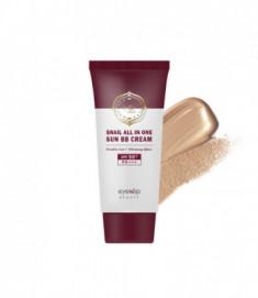 Крем ББ для лица улиточный Eyenlip Snail All In One Sun BB Cream #23 Natural Beige 50мл