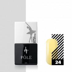Pole, Гель-лак Lovely Ballerina №24, светло-желтый