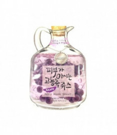 Маска тканевая с виноградом Baviphat Grape Juicy Mask Sheet Lifting & Bright 23гр