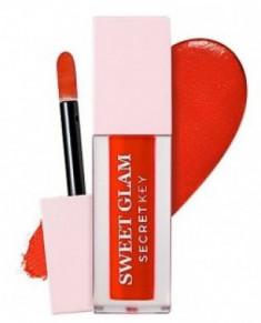 Тинт для губ вельветовый SECRET KEY Sweet Glam Velvet Tint 01 Red more 5г
