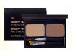 Палетка для макияжа бровей THE FACE SHOP BROWMASTER EYEBROW KIT02 GRAY BROWN 4г