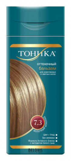 Оттеночный бальзам для волос Тоника ТОНИКА