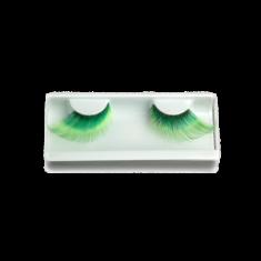 Накладные ресницы Make-up Atelier Paris CIL4581, зелёный градиент