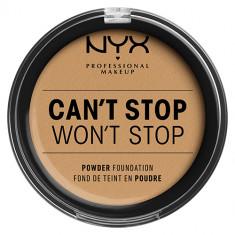Крем-пудра для лица NYX PROFESSIONAL MAKEUP CANT STOP WONT STOP компактная тон Beige