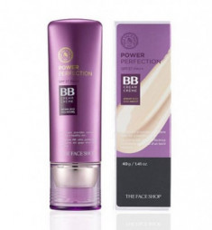 BB-крем для совершенной кожи THE FACE SHOP Power Perfection BB Cream SPF37 PA++ V201 Apricot Beige