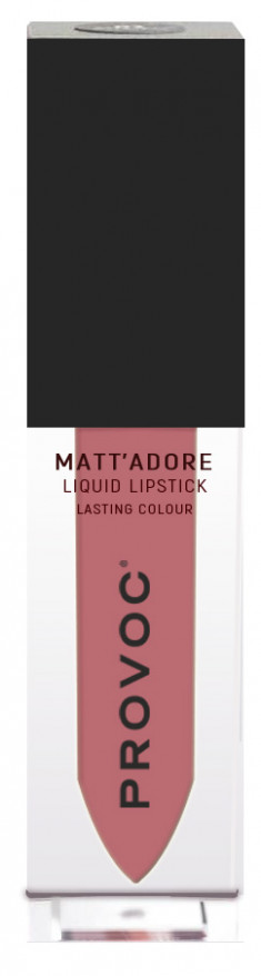 PROVOC Помада жидкая матовая для губ, 09 пудрово-розовый / MATTADORE Liquid Lipstick Lumin 5 г