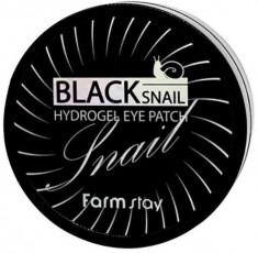 FARMSTAY Патчи гидрогелевые с муцином черной улитки для области вокруг глаз / HYDROGEL EYE PATCH 90 г