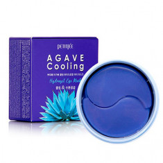 Petitfee, Гидрогелевые патчи Agave Cooling, 60 шт.