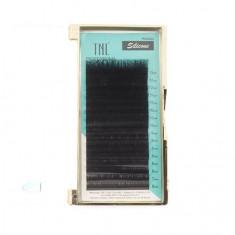 TNL, Ресницы на ленте силиконовые 0,07 мм, C-изгиб TNL Professional