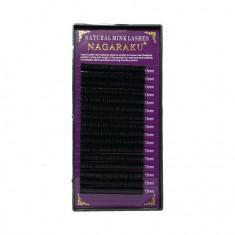 NAGARAKU, Ресницы на ленте Natural Mink, 13/0,12 мм, C-изгиб