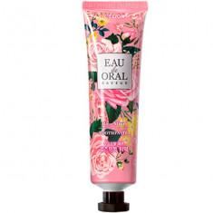 Лион зубная паста Eau de Oral Saveur профилактическая Мятная роза 70г LION
