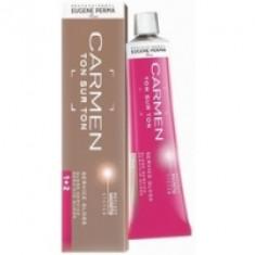 Eugene Perma Carmen Ton Sur Ton Gloss G.34 - Краска для волос с эффектом глянцевого блеска, золотистый медный, 60 мл