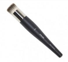 Кисть большая круглая с серо-белым ворсом для нанесения базы Make-Up Atelier Paris P25S