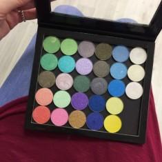 Тени перламутровые 2гр. (Shimmer Eyeshadow 2g.) MAKE-UP-SECRET 618 Фиолетово-золотой дуохром