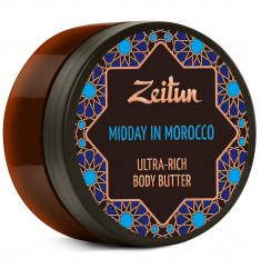 ZEITUN Крем-масло для тела Марокканский полдень, для подтяжки кожи 200 мл
