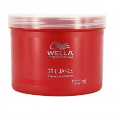 Wella Brilliance Line Маска для окрашенных нормальных и тонких волос 500мл