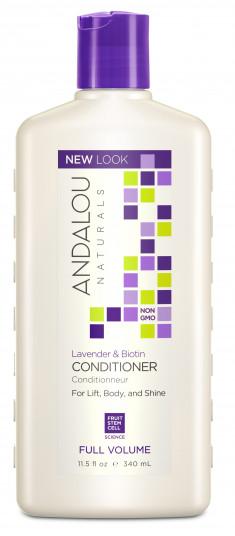 ANDALOU NATURALS Кондиционер для объема волос Лаванда и биотин 340 мл