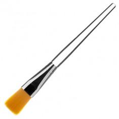 IRISK PROFESSIONAL Кисть для маски и парафина, нейлон, длина ручки 9,5 см, 02 оранжевый ворс