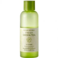 Освежающий тоник с экстрактом зеленого чая Fresh Green Tea NATURE REPUBLIC