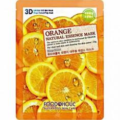 Маска для лица Orange Gram Natural Essence 3D FoodaHolic