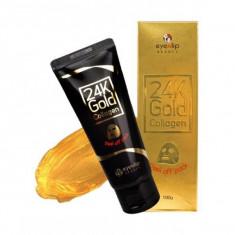 маска-пленка очищающая с 24к золотом eyenlip 24k gold collagen peel off pack