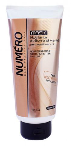 BRELIL PROFESSIONAL Маска с маслом карите для сухих волос / Numero 300 мл