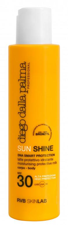 DIEGO DALLA PALMA PROFESSIONAL Молочко солнцезащитное SPF 30 / SUN SHINE MOISTURISING PROTECTIVE MILK face-body 150 мл