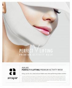 AVAJAR Маска лифтинговая с SPF защитой / Perfect V lifting premium activity mask 1 шт