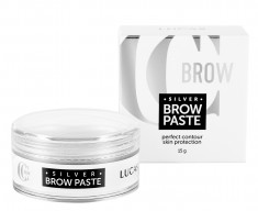 LUCAS' COSMETICS Паста для бровей, серебряная / CC Brow Silver Brow Paste 15 г