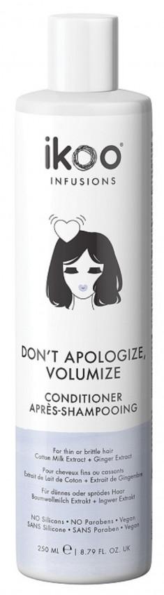 IKOO Кондиционер для волос Непростительный объем / Conditioner Don't Apologize, Volumize 250 мл