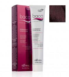 KAARAL 6.32 краска для волос, темный золотисто-фиолетовый блондин / BACO COLOR 100 мл
