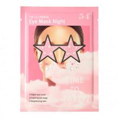 DR.GLODERM, Ночная маска для глаз Time to party, 1 шт.